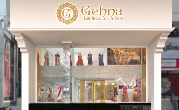 Gehna store facade design architecture hyderabad india