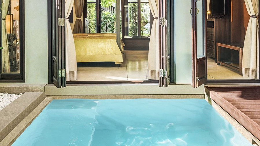 Swim out suites, hospitality design trends, resort design