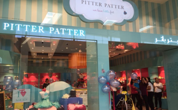 Pitter Patter store dubai retail design