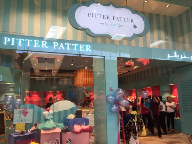 Pitter Patter store dubai retail design