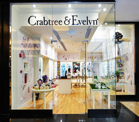 crabtree & evelyn retail store dubai