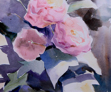 water colour painting, fine art