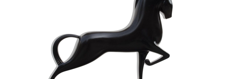 Horse sculpture fine art