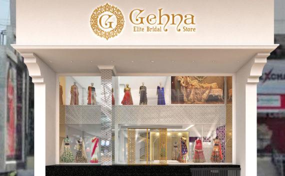 Gehna store facade design architecture hyderabad india